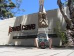 Jewel Cave Headstand, Augusta, WA, Australia