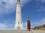 Leeuwin Lighthouse Headstand, Cape Leeuwin, WA, Australia
