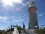 Little Lighthouse Headstand, Rottnest Island, WA, Australia