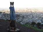 Twin Peaks Headstand, San Franscisco, USA