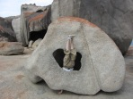 Remarkable Rocks Headstand, Kangaroo Island, SA, Australia
