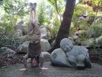 Chinese Gardens Headstand, Sydney, NSW, Australia