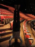 Sydney Opera House Headstand, Sydney, NSW, Australia