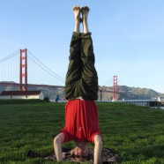 Golden Gate Headstand, San Franscisco, USA