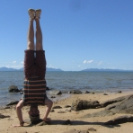 Whitsunday Islands Headstand, QLD, Australia