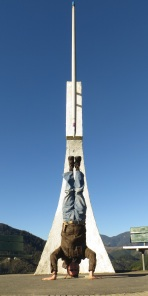 Centre Of New Zealand Headstand, Nelson, New Zealand