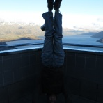 Skyline Lookout Headstand, Queenstown, New Zealand