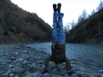 Arwens Ford Headstand, Arrowtown, New Zealand