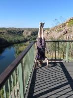 Katherine Gorge Headstand, NT, Australia