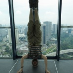 Singapore Flyer Headstand, Singapore
