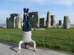 Stonehenge Headstand, UK