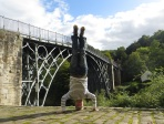 Iron Bridge Headstand, Iron Bridge Gorge, UK