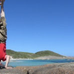 William Bay Headstand, WA, Australia